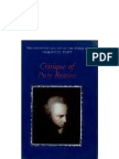 Kant - Critique of Pure Reason (CUP)