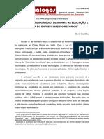 CASTILHO, Denis. Refome Do EM, Desmonte Na Educ. e Inércia Do Enfrentamento Retórico. 2017