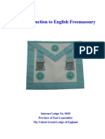 Intro English Freemasonry