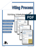 Writing Workshop 1 - The Writing Process PREVIEW