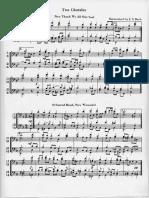 2 Bach Chorales