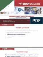Clase 7- Organización Del Trabajo Extramural