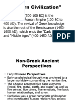 September 12 -Ancient Perspectives & Aristotle