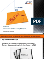 1.02 Mechatronic Product Concept Proposal