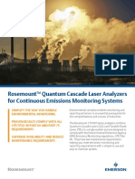 Flyer Flyer Rosemount Quantum Cascade Laser Analyzers for Continuous Emissions Monitoring Systems en 588428