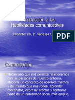 Clase 1 Destrezas Comunicativas Comparativa y Ejercicios de Reconocimiento
