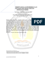 9572 ID Peranan Pemerintah Dalam Pemberdayaan Pedagang Kaki Lima Di Kecamatan Pontianak