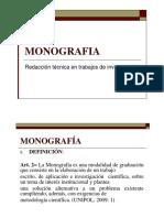 3. Redacción Técnica en Trabajos Monográficos