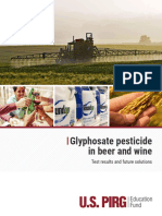 WEB USP Glyphosate Pesticide Beer and Wine REPORT 022619