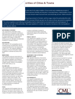2019 Colorado Municipal League Legislative Priorities