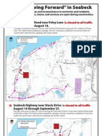 Seabeck Holly Road Road Work and Detour 8