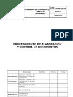 03_procedimiento de Control de Documentos