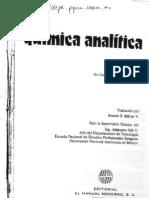 QUÍMICA ANALÍTICA - J.G. DICK