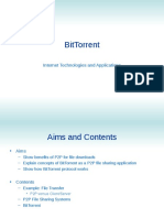 BitTorrent - Internet Technologies and Applications