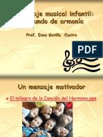 El Lenguaje Musical Infantil Un Mundo de Armonia