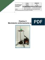 Práctica 3 Física experimental