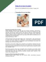 Uraian Tugas Perawat OK PK II