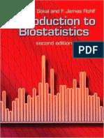 Introduction to Biostatistics Second Edition