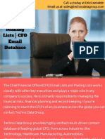 CFO Email Lists _ CFO Mailing Lists _ CFO Email Database in Usa