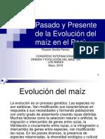 Evolución Del Maíz Congreso Cusco,