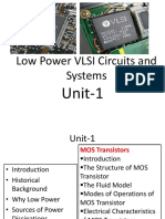 Unit 1 MOS Fabrication Technology