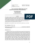 Besaran Fee Audit Pada Perusahaan Yang Terdaftar d