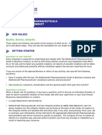 Mallinckrodt Pharmaceuticals Guide to Business Conduct