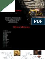 Obras Mineras  Portafolio
