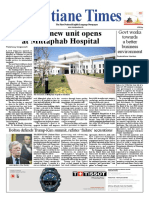Vientiane time newspaper 06-03-2019