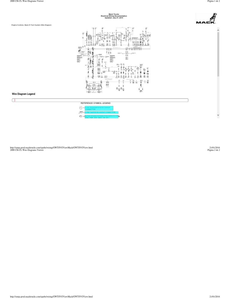 296889267-diagrama-mack pdf   anti lock braking system   electrical  connector