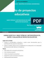 Diseño de Proyectos Educativos