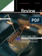 White Light LEDs –Important