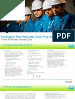 5 Year IKTVA Planning Format Guide