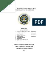 Kebijakan Fiskal Ali Bin Abi Thalib