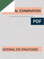 Physical Assessment Internal Eyes