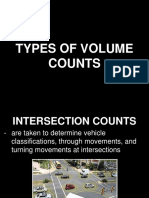 Transportation Engineering - Volume Counts