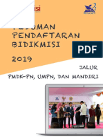 Pedoman Bidikmisi Siswa 2019 Pmdk Umpn Mandiri