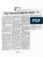 Philippine Star, Mar. 6, 2019, No gov't funds used in admin bets campaign - Go.pdf