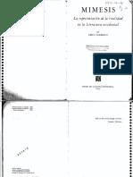 Auerbach, Mímesis. La Representación de la realidad en la literatura occidental, FCE 1994.pdf