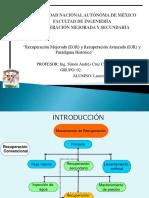 Recuperación Mejorada y Avanzada de Hidrocarburos