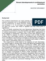 GEOFFREY BROADBENT Recent Developments in Architectural Semiotics f3