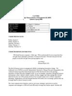 Quinones - EMBA Strategic HR Syllabus (2008)