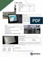 Test Bench -Data Sheet 2019