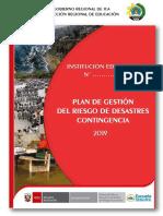 Plan de Grd y Contingencia