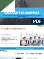 Outsource Call Center Services