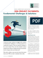CONSTRUCTION PROJECT PAYMENTS