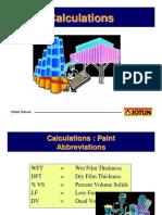 Calculating Paint Consuption Lib