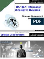 BA 1801 04 - Strategic Management and Technology