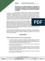 INSTRUCCION 22 de Febrero- Evaluacion Asesorias y Direcc