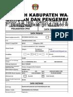 Biodata Diklat Prajabatan - Latsar-1